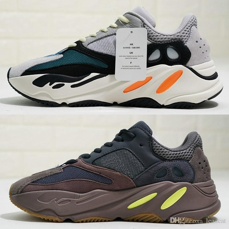 d33f5a20a2e 2018 Kanye West 700 Mens Running Shoes Best Quality Runner Mauve Men Women  Shoes 700 Athletics Jogging Sneakers Size 36-46 Basketball Shoes Men Shoes  ...