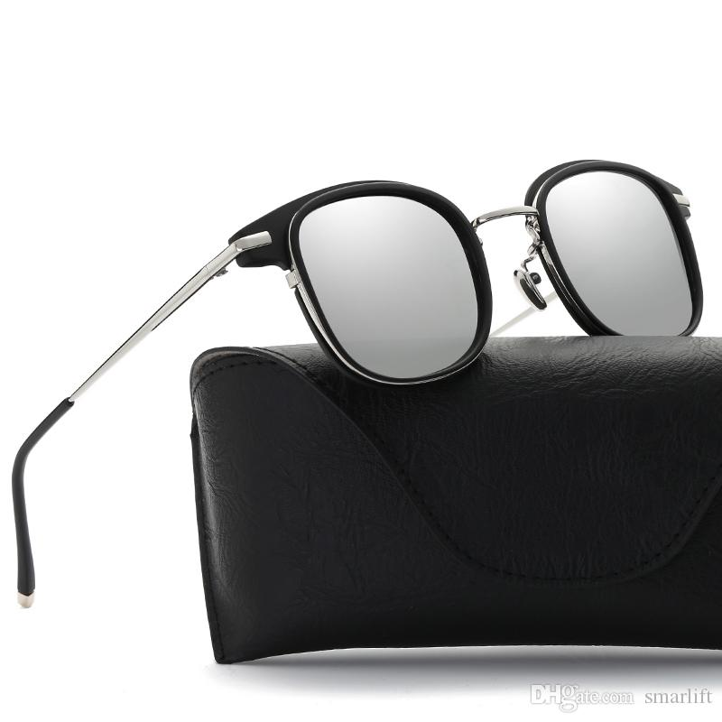 641663e2b1 2018 BRAND NEW Fashion Colorful Polarizing Sunglasses Alloy Frame Glass  UV400 Style High Quality European Fashion SPORTS Model Bifocal Sunglasses  Retro ...