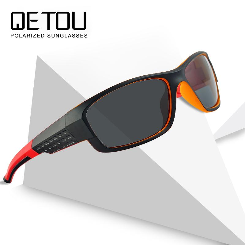 28529eb4ce5 QETOU Classic Polarized Sunglasses Brand Designer Men Sun Glasses Travel  Driving Male Square Night Vision Glasses Eyewear UV400 Sunglasses Sale Kids  ...