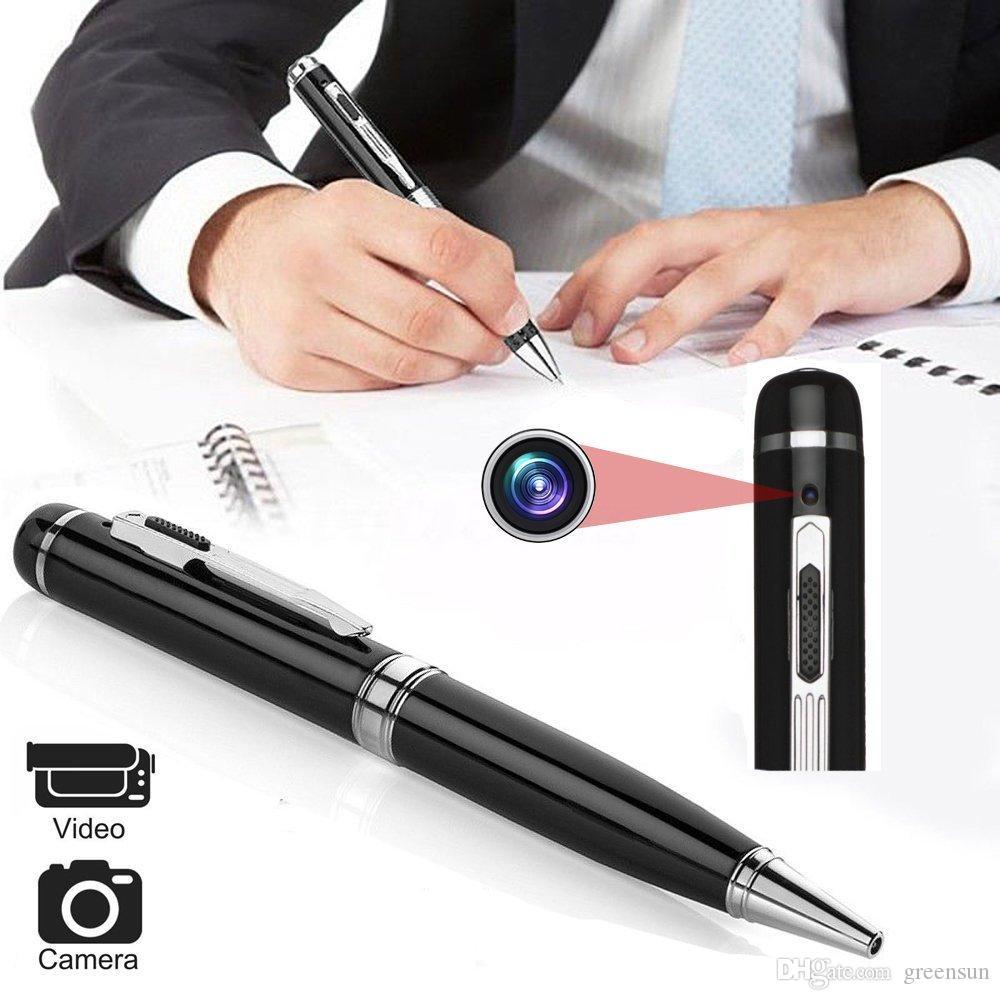 Kalem HD 1080 P Mini DVR, Taşınabilir Video Kaydedici Kamera Desteği micro SD kart Siyah