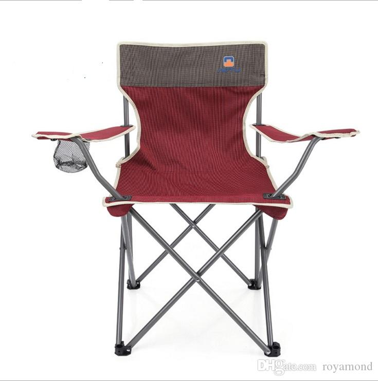 High Grade Outdoor Folding Portable Chair Beach Chair Fishing Chair At 6742  Camping Stools Commercial Outdoor Furniture From Royamond, $16.99   Dhgate.Com