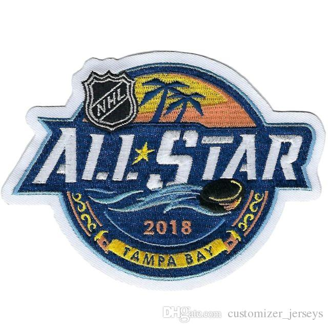 Iron On 2018 All Star Game Tampa Bay Lightning Embroidered Hockey Jersey Patch Patches Online With 10 29 Piece On Customizer_jerseyss Store Dhgate Com