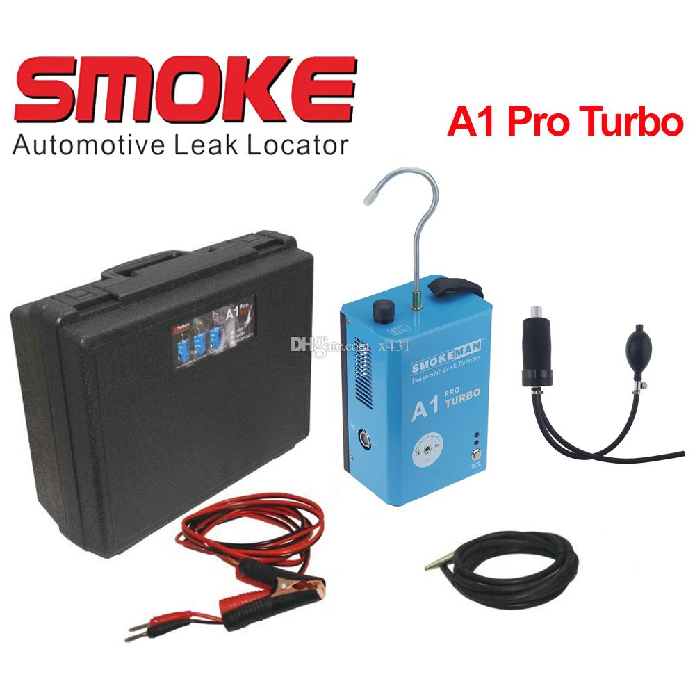 Best Quality SMOKE A1 Pro Turbo Smoke Automotive Diagnostic Leak Detector  for Motorcycle/ Car/ SUV/ Truck Instead of ALL100