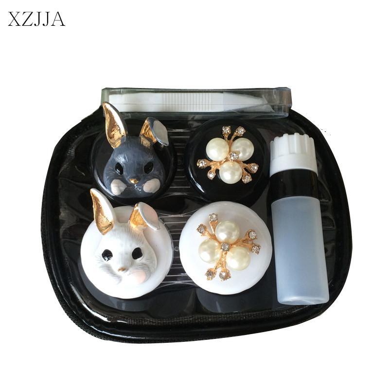 2018 Xzjja 2017 Women Contact Lenses Storage Box Cartoon Rabbit Contact Lens Box Eyes Care Kit Holder Travel Washer Cleaner Container From Jiguan ...  sc 1 st  DHgate.com & 2018 Xzjja 2017 Women Contact Lenses Storage Box Cartoon Rabbit ...