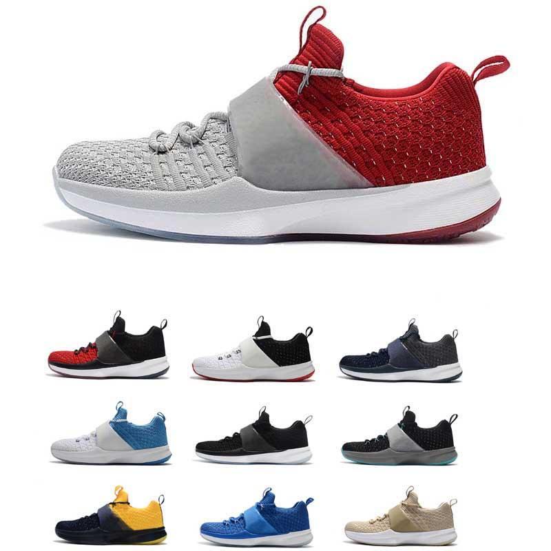 9a410654512c4 Acheter Chaussure De Basket Ball Nike Air Jordan TRAINER 2 UNC Pour Homme,  De Haute Qualité, Coupe Basse, Chaussures De Sport Flyknit De $95.69 Du ...