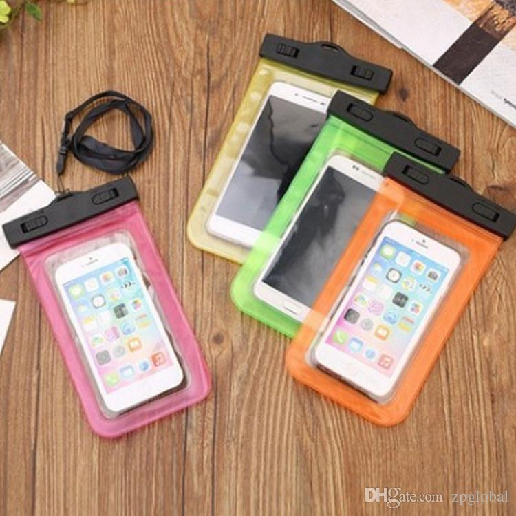 Hot Sale Waterproof Bag Pouch Support Touch the Screen For Diving Drifting Strong Protection Water Proof Cell Phone Storage Bag