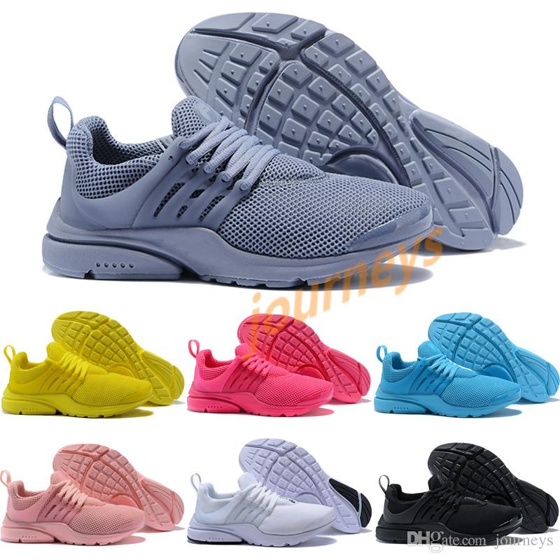 8f545dbf9 2019 2018 Wholesale Discount Presto 5 Grey Purple Pure White Ultra Runner  Men S   Women S Running Shoes Classic Sport Sneakers From Journeys