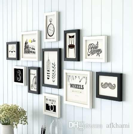European Style Photo Frame White Black,Creative Multi Photo Frames ...