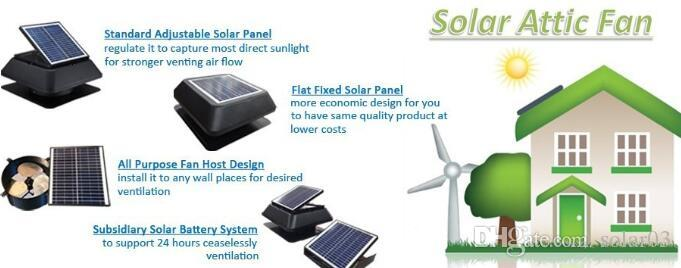2018 Year Very Hot Sale ,Eco-friendly Greenhouse Solar Power 14inch 25watt  Attic Roof Vent Kits Exhaust Air Fans Online with $10048.25/Piece on  Solar03's ...