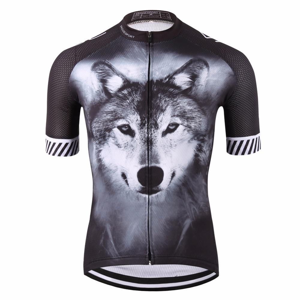 bfe52c26d Hot Sale 2018 Wolf Pro Cyclist Jersey Sports Original Summer Men Bike  Clothing Novelty Unisex Plus Size 3D Printed Cycling Clothes Cycling Wear  Bike Wear ...