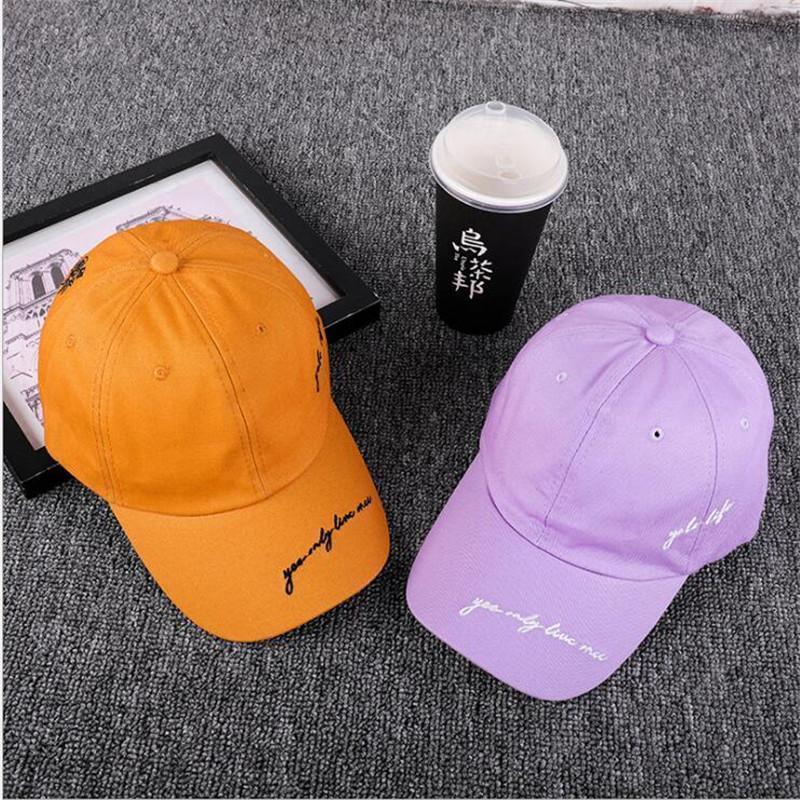 eb2ab8f0570e 2018 nuevo sombrero gorra beisbol hombre bordado lateral de los hombres  curva visera personalidad simple gorra de béisbol snapback