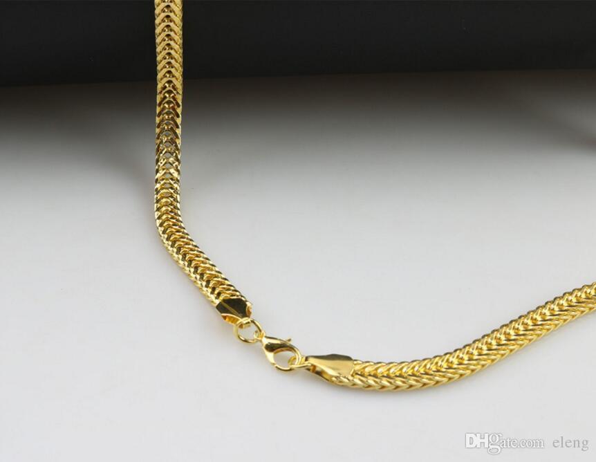 Neue Ankunft der gesetzten Schnecke dicker Kettenkrone Löwehalskette runder der Großhandels2015 stone Strickjackekette Halskette Mädchen Jewelry + Free Verschiffen 487