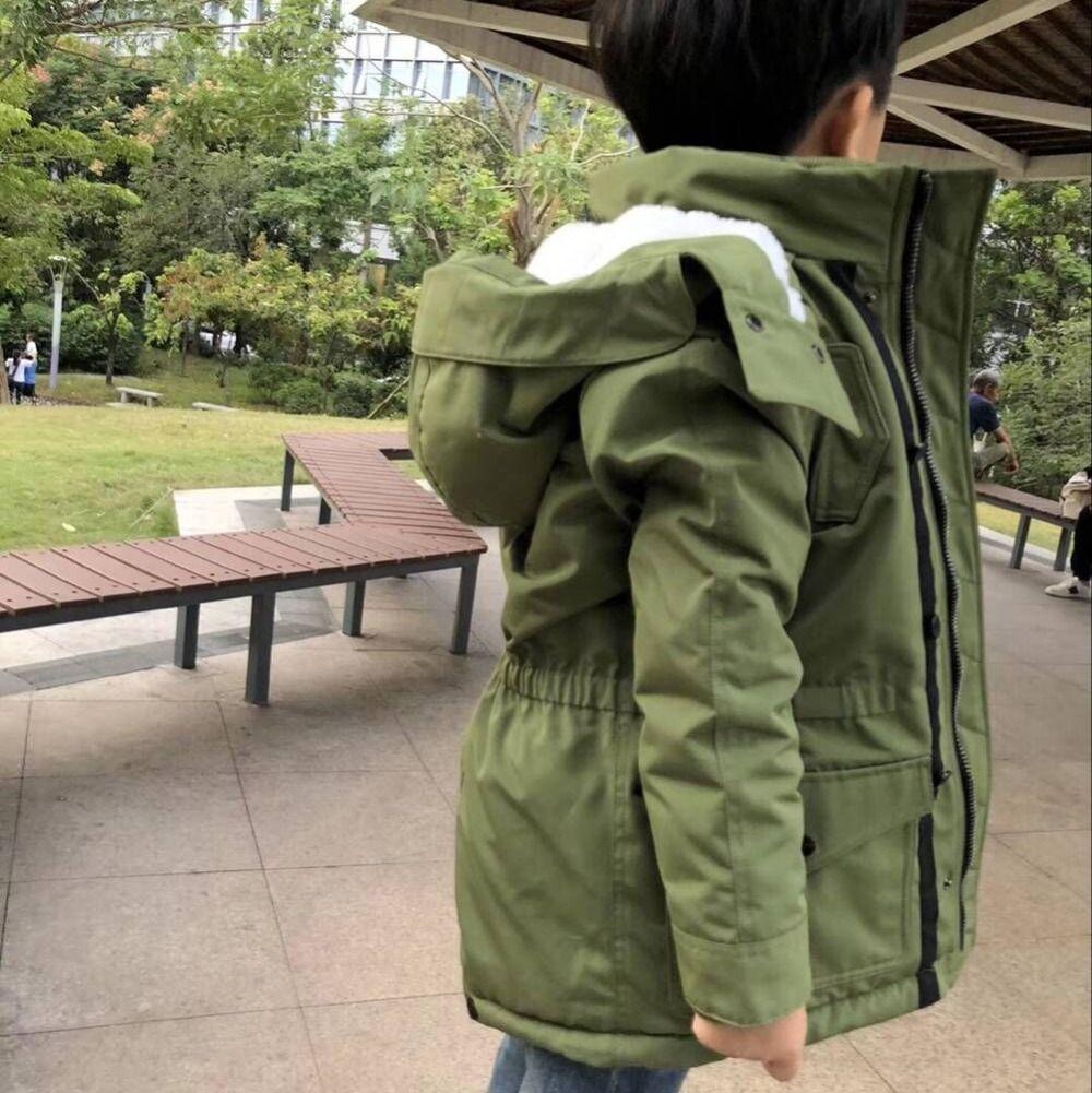 d006c0bb9 Children Winter Jackets Kids Coat Hooded Baby Jacket For Boys Parka ...