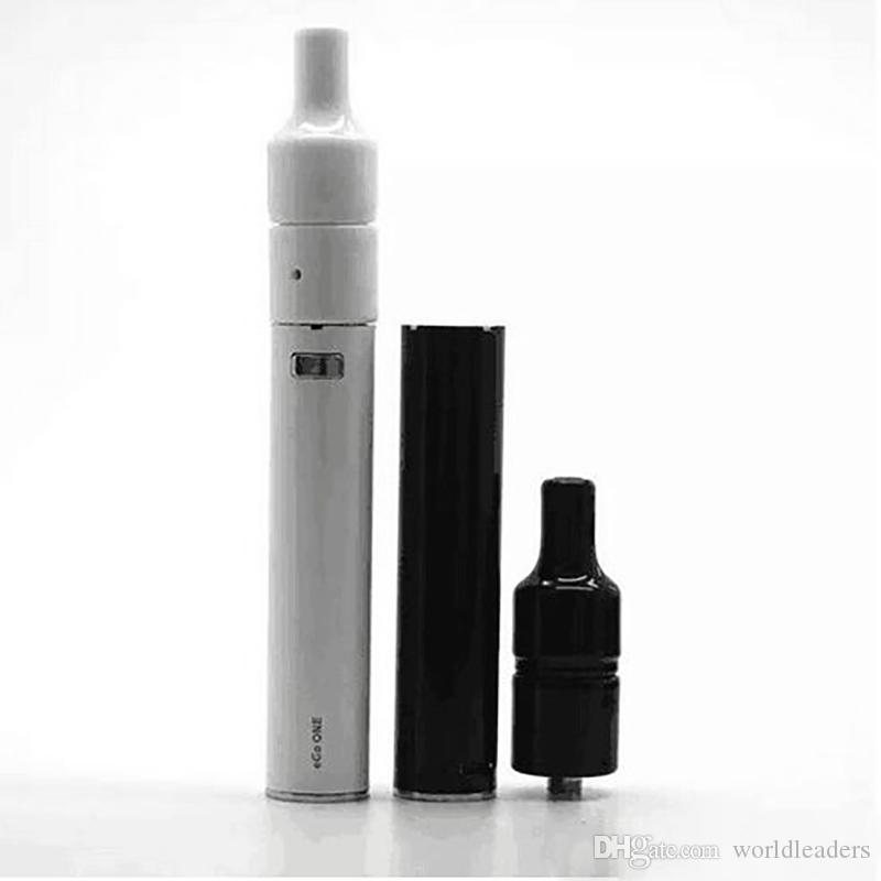 Ceramic Atomizer Ecig Ceramic Donut Starter Kit Ceramic Heating Coil Atomizer Wax Vaporizer Pen Ego One Mini Kit For Smoking