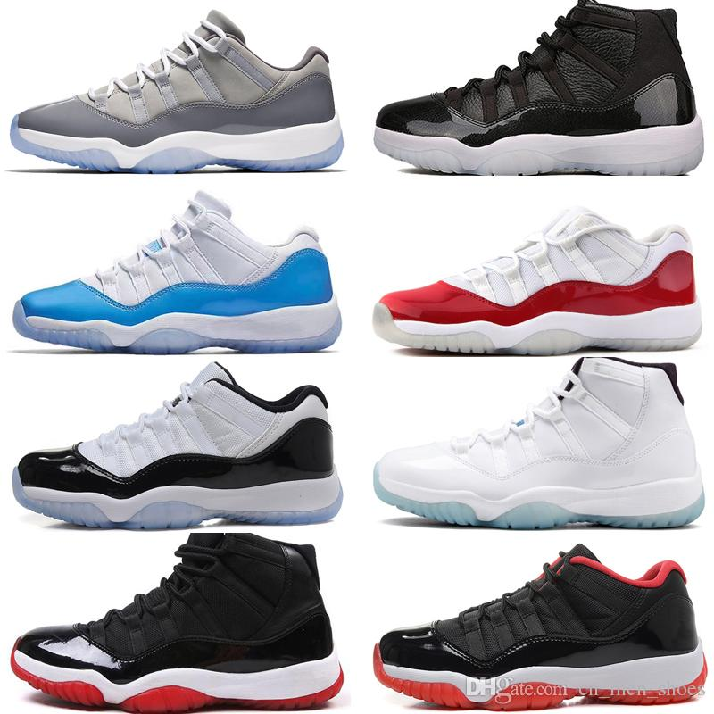 4ca47e25b5a Cheap 11 11s Cap And Gown Prom Night Mens Basketball Shoes Gym Red Bred PRM  Heiress Barons Win Like 96 72-10 Men Sports Sneakers Trainers Designer