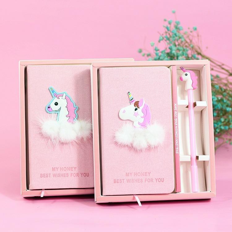 Compre Unicornio Notebook Cuaderno De Notas De Calidad Con Conjunto