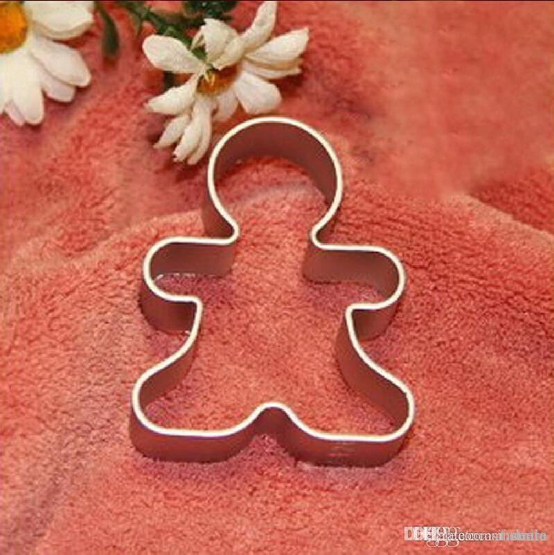 Home & Garden Baking & Pastry Tools Precise Hot Christmas Cookie Cutter Tools Aluminium Alloy Gingerbread Men Shaped Holiday Biscuit Mold Kitchen Cake Decorating Tools