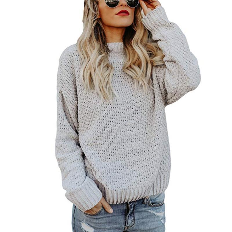 more photos 2ba34 ffb47 Simenual Pocket maglione dolcevita abito 2018 inverno twist moda bianco  lungo maglione maglieria fessura donne maglioni e pullover