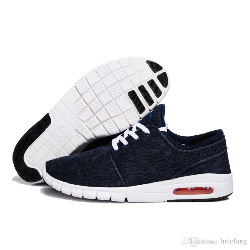 e69e5aa9c5a Compre Venta Caliente Nuevo Diseño SB Zapatos Stefan Janoski Mujeres Y Hombres  Zapatos Ocasionales Al Aire Libre Tamaño 36 45 Zapatillas Jogging Zapatos A  ...