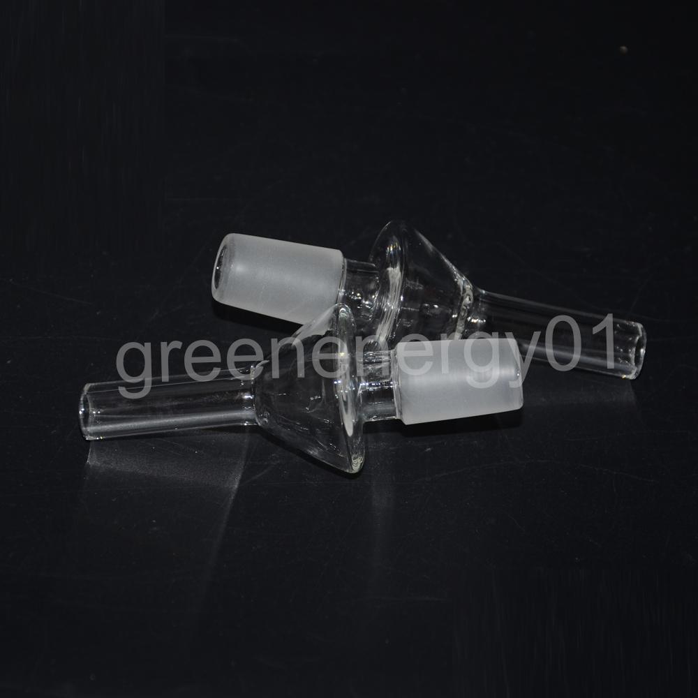14mm Kit Mini Glass Pipe Oil Rig Miel Dab Straw tarro de silicona al azar con clavo de cuarzo