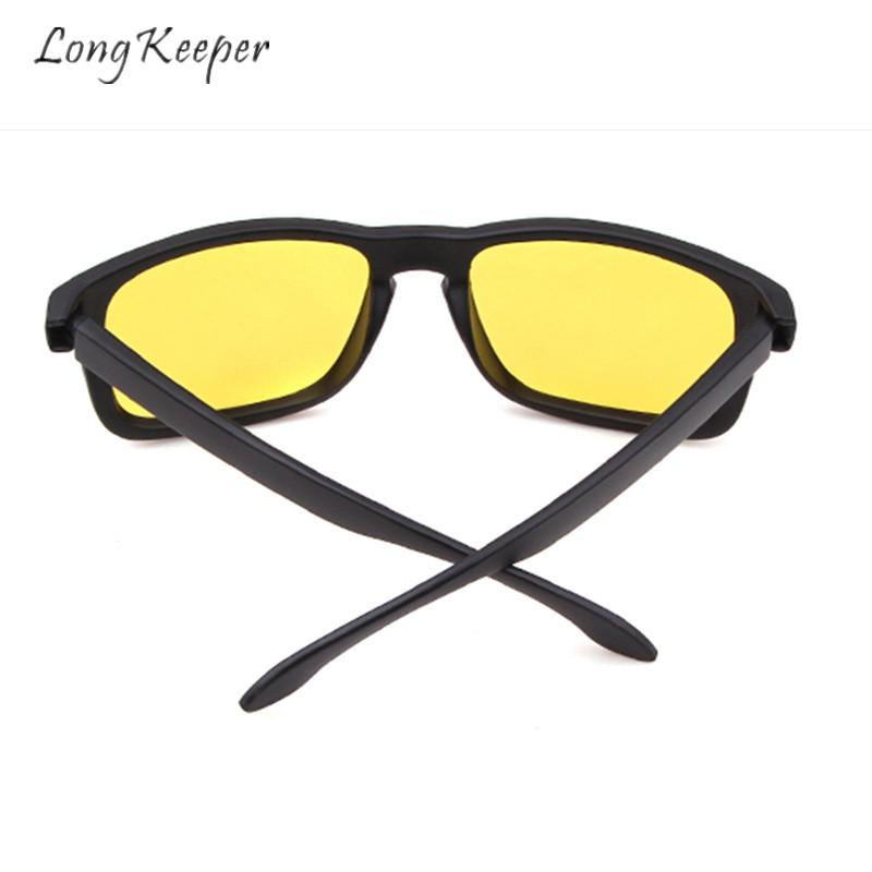 c73b6e7a3d3 Long Keeper Night Vision Glasses Men Sunglasses Yellow Lens Eyeglasses  Eyewear UV400 Protection Women Driving Outdoor Fashion Mens Sunglasses  Police ...