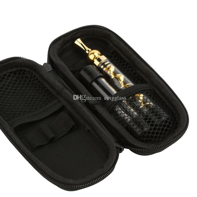 Beste Qualität Twisty Glas Blunt Rolling Blunt Vaporizer Pfeife Twist Kits mit Tasche Material Messing und Glas