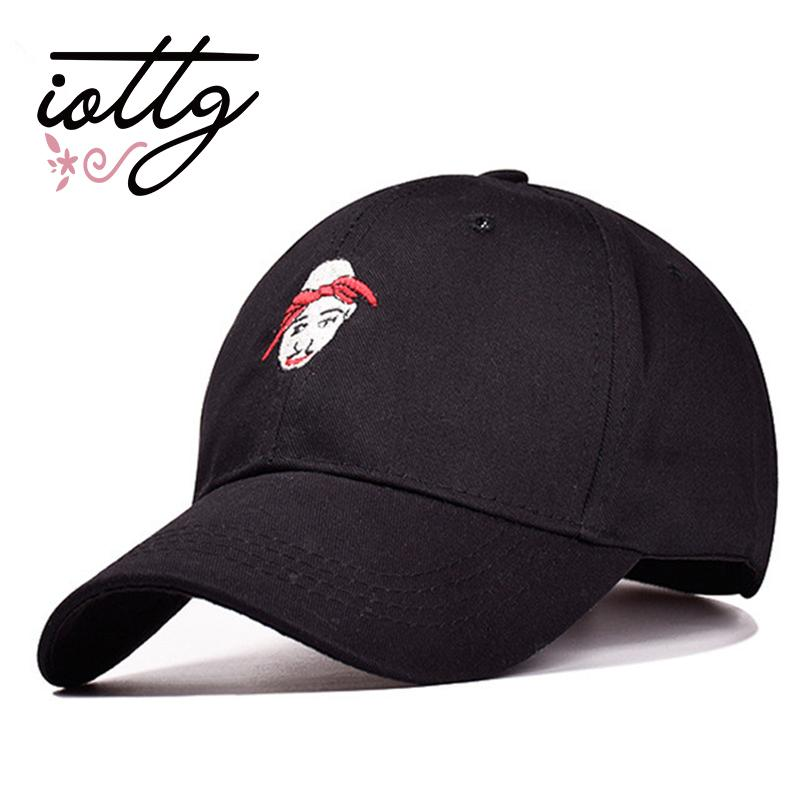 IOTTG 2017 New Product Men s Women Embroidered Baseball Cap Bend Bill Dad  Hat 100% Cotton Backpack Cap Truck Driver Hat Tupac Neweracap Cap Hat From  ... f48c433ef2