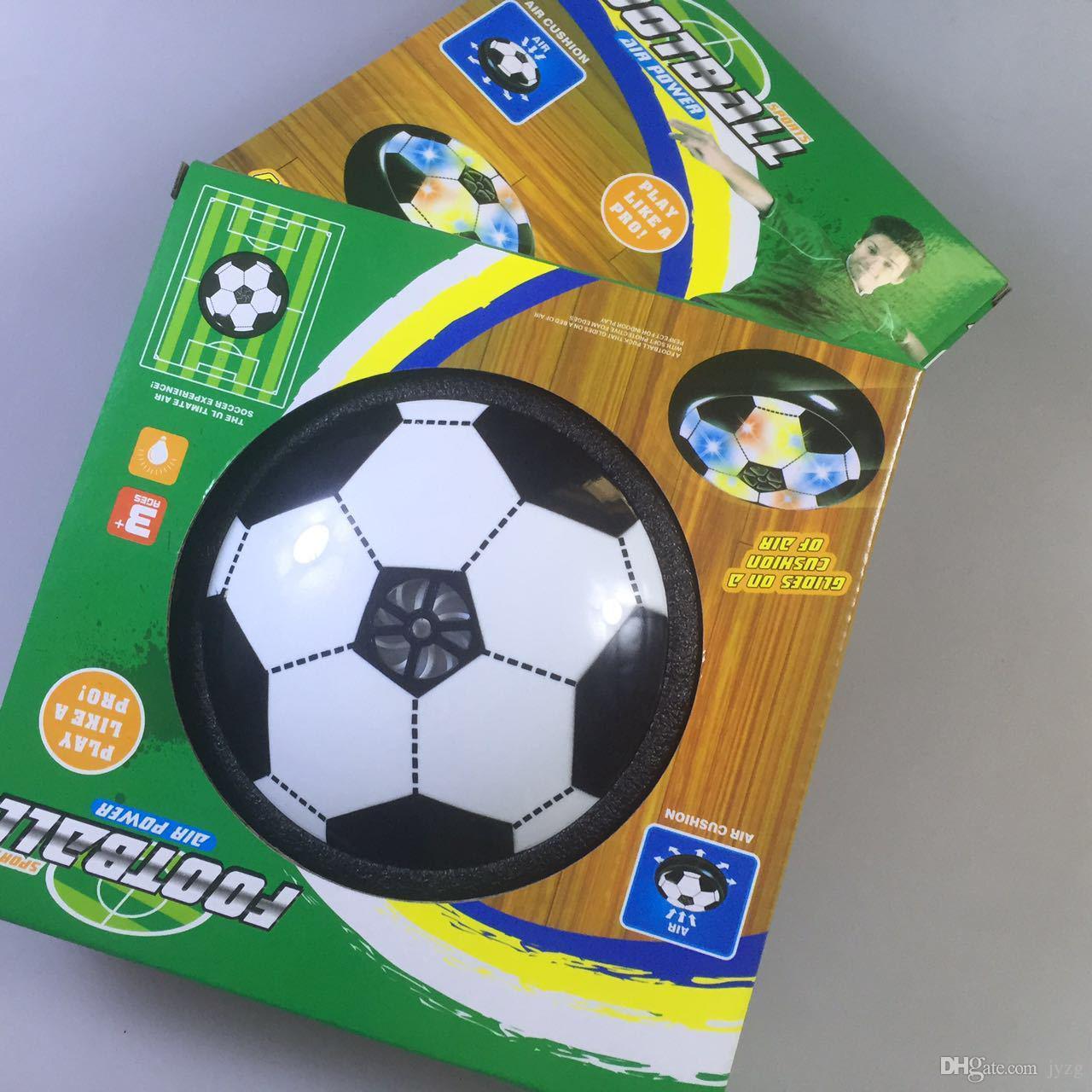 New Classic Crianças Brinquedos Suspensão de Futebol LEVOU Almofada De Ar Elétrico de Futebol Disco Pneumático Para Crianças Menino Brinquedo Jogo Indoor