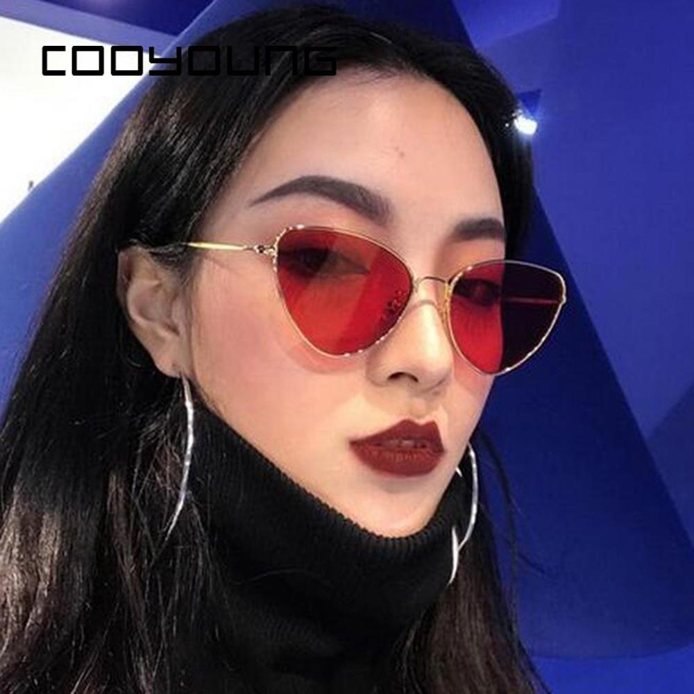 08e0c7aeccde0 ... Eye Vintage Óculos De Sol Das Mulheres Designer De Marca Retro Pequeno  Quadro De Liga Feminino Óculos De Sol Red Lente Clara Eyewear Uv400 De  Value333, ...