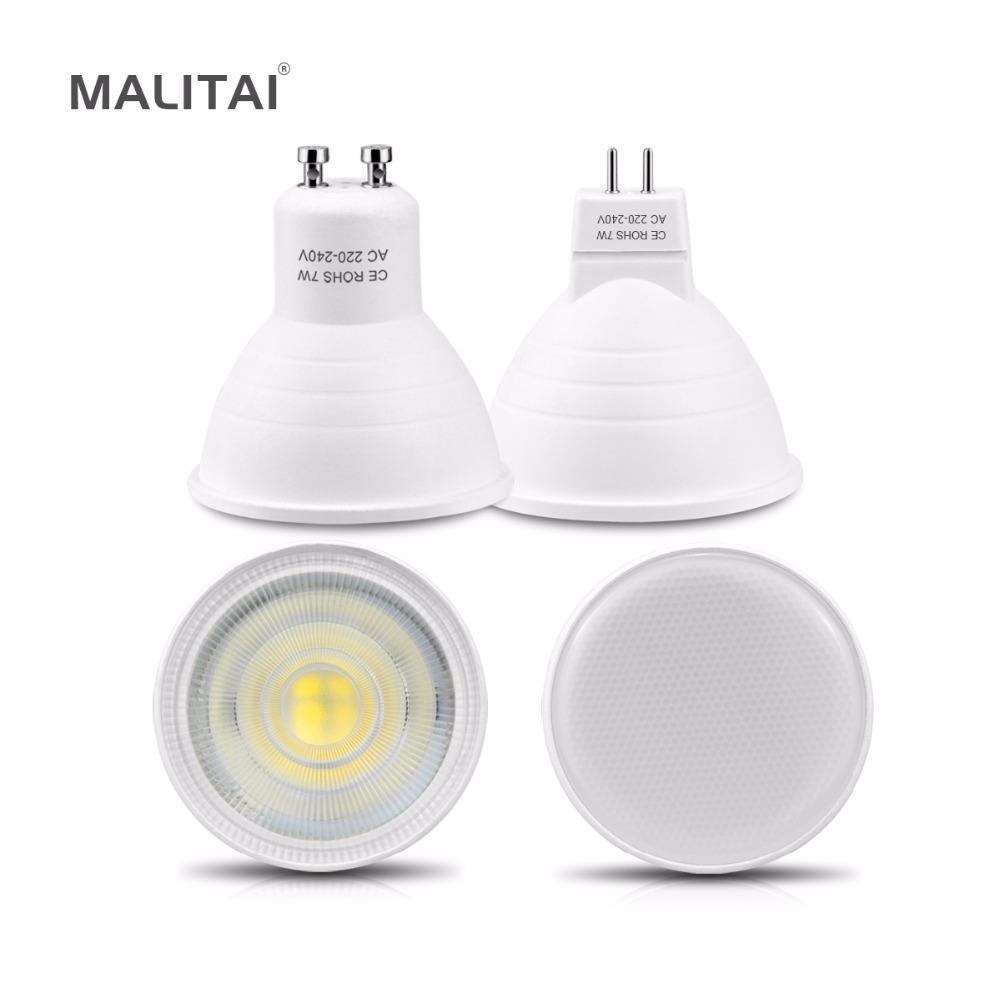Non Dimmable 7w Gu10 Led Lamp Spotlight Bulb Mr16 220v 230v 240v ...