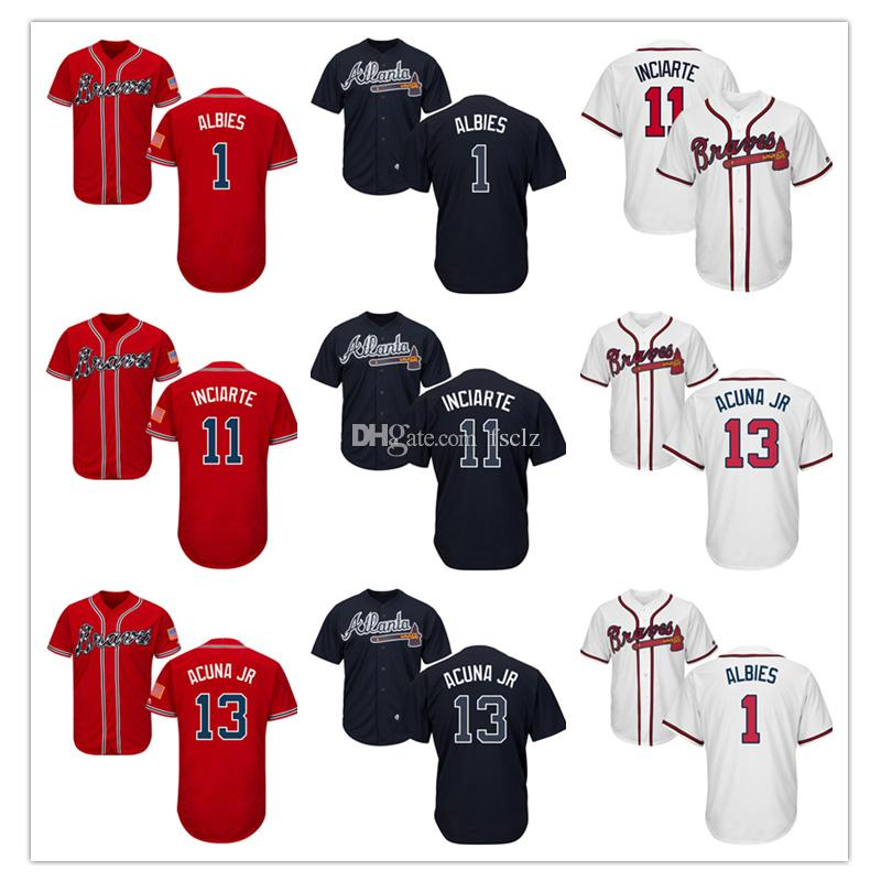 2019 Mens Atlanta Braves Jersey Majestic Cool Base And Flex Base Ozzie  Albies Ender Inciarte Ronald Acuna Jr High Quality Baseball Jerseys From  Fsclz 47d15e099