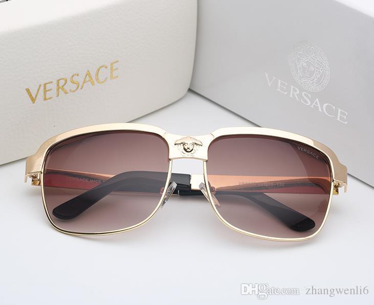 44c2e74ab3 Luxury Brand Fashion UVLAIK Cat Eye Women Sunglasses Oversized Sun ...