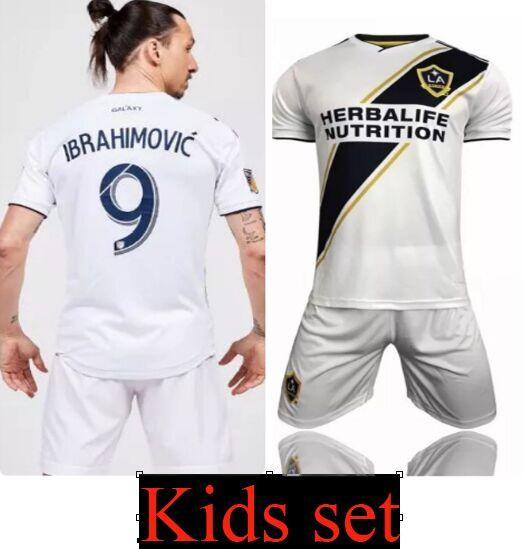 2019 Camisetas De Futbol Kids 2019 USA LA Galaxy Soccer Jersey Zlatan Youth  19 Maillot De Foot Zlatan Ibrahimovic Los Angeles KEANE Uniform From ... b27421917