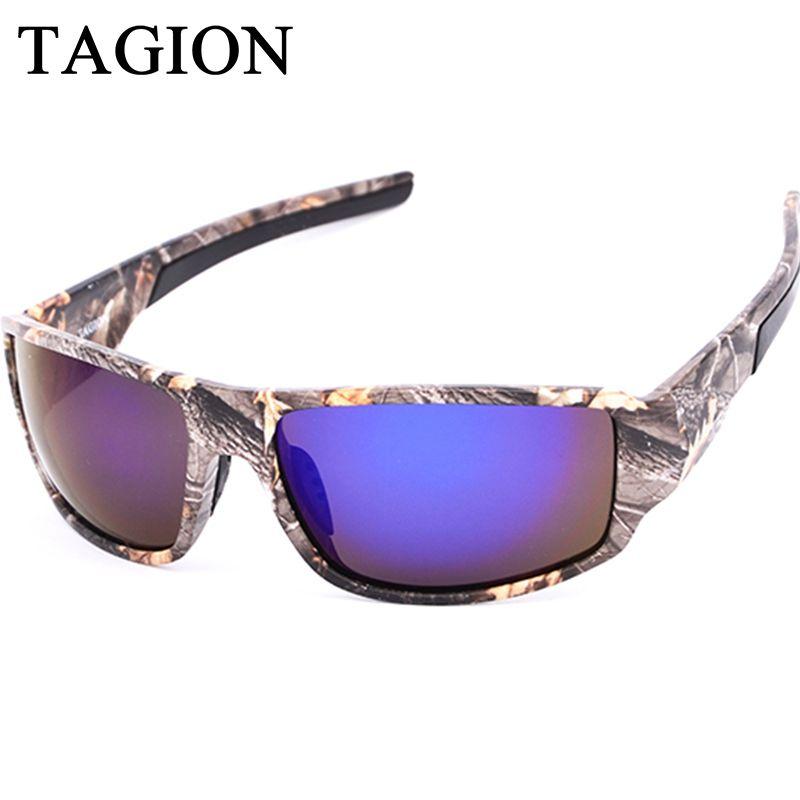 e8eabab71b 2018 TAGION New Fashion Polarized Sun Glasses Men Camouflage Sunglasses  Shooting Hunting Goggles Sport Hiking Eyewear Victoria Beckham Sunglasses  ...