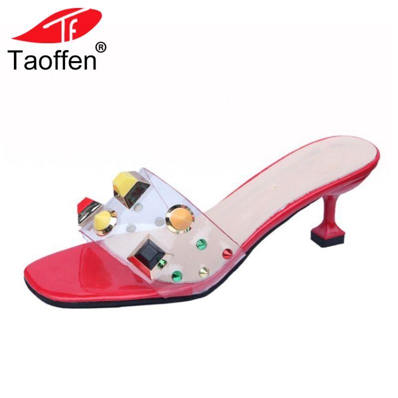 385f950de21 Wholesale Women High Heel Sandals Open Toe Strange Heels Rivet Transparent  Women Summer Shoes Classic Shoes Footwear Size 35 39 Platform Heels Black  Sandals ...