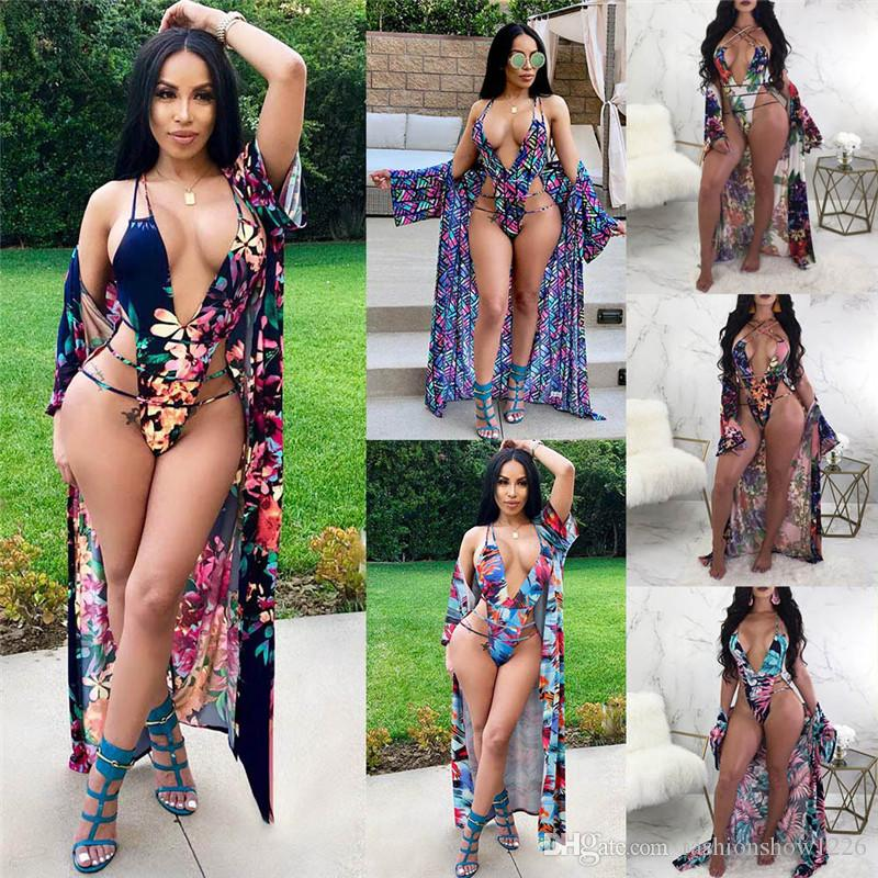 d8954bc854a9 2019 2018 Sexy Swimdress New Stylish Summer Swimsuit For Women Swimwear Two  Piece Bathing Suit Beach Bikini Cover Up Cloak Set 2 In 1 From  Fashionshow1226