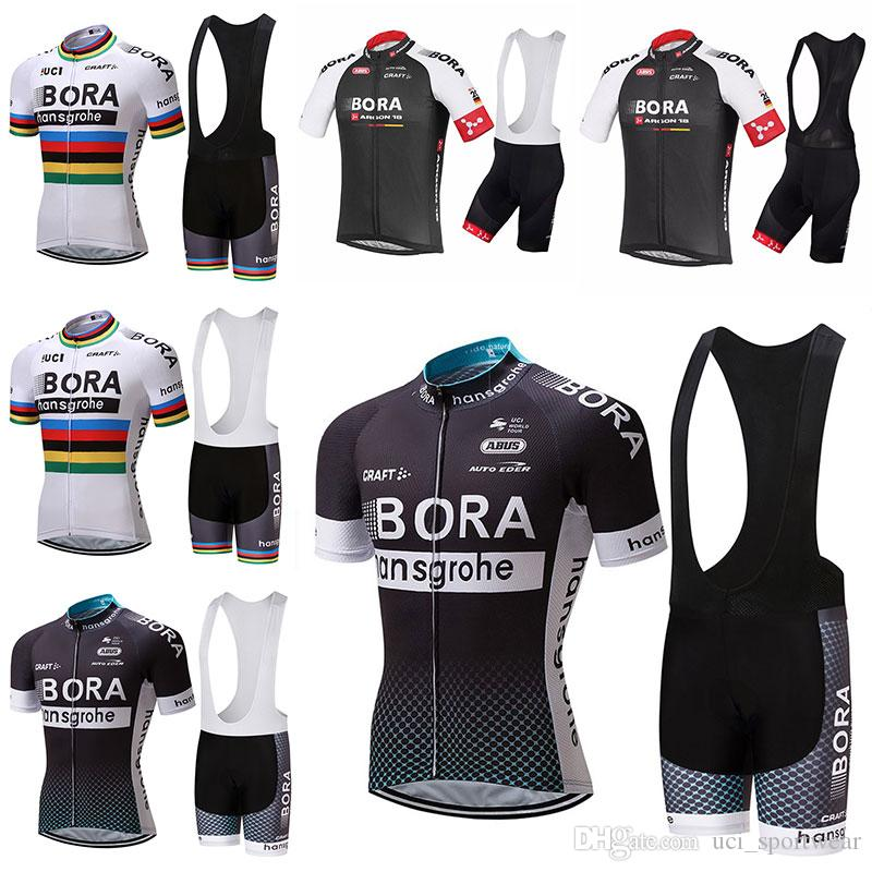 2017 BORA Cycling Clothing / Cycling Jersey /Bicycle Team Roupa Ciclismo bike Outdoor bicicleta Sportswear Short Sleeve Suit