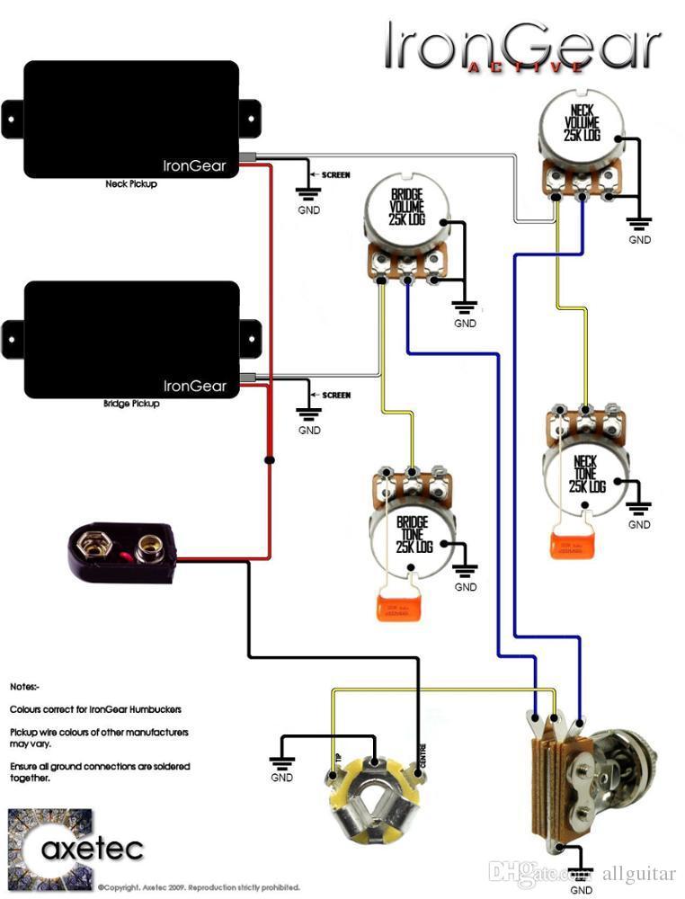 EMG 81 85 9 V Batteria pickup attivo chiuso digitare energia elettrica pickup chitarra in azione Trasporto libero