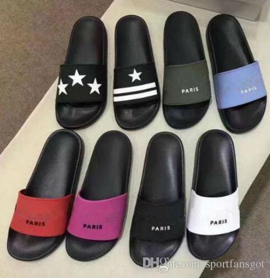 33a52f566e5205 Acquista Ciabatte Sandali Da Uomo Fashion Con Pantofole Da Donna CON  SCATOLA ORIGINALE Pantofole Infradito Da Spiaggia Unisex Di Design Caldo  MIGLIORE ...
