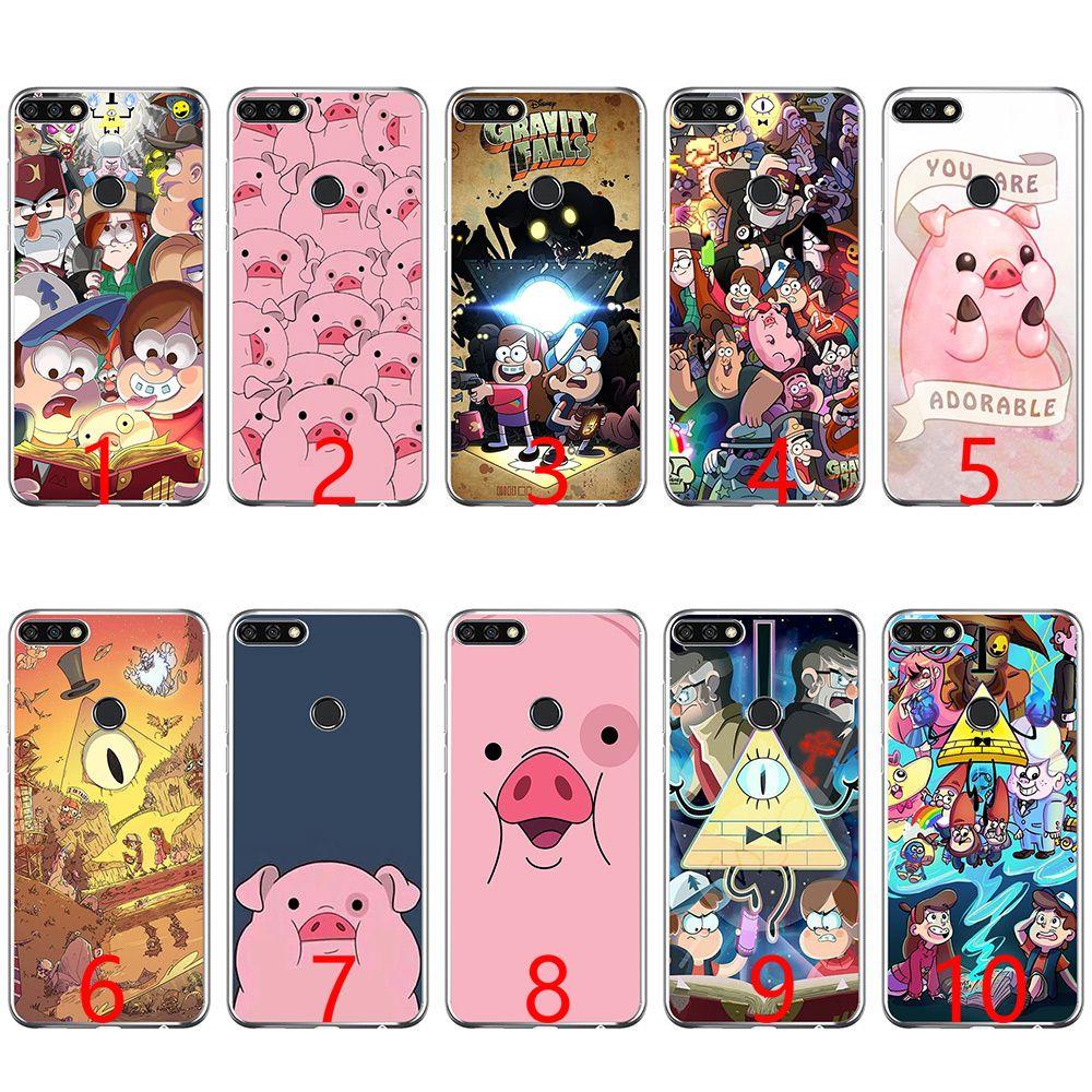 91f72e939b3 Protectores Para Celulares Cartoon Anime Gravity Falls Family Soft Funda De Silicona  Para Teléfono De Huawei P8 P9 Lite 2015 2016 2017 P10 20 Lite P Smart ...