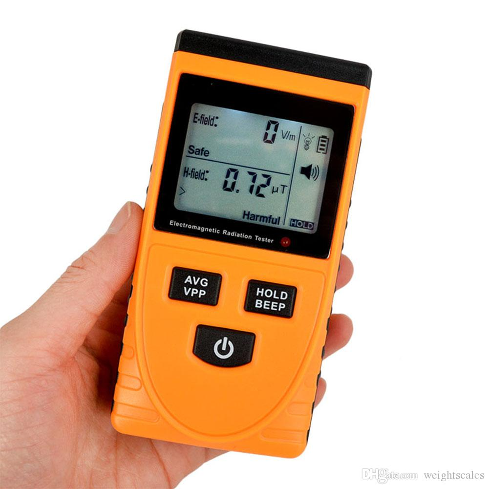 Digital LCD rilevatore di radiazioni elettromagnetiche GM3120 Dosimetro Tester Elettrodomestici Apparecchiature ufficio Rilevatori di radiazioni
