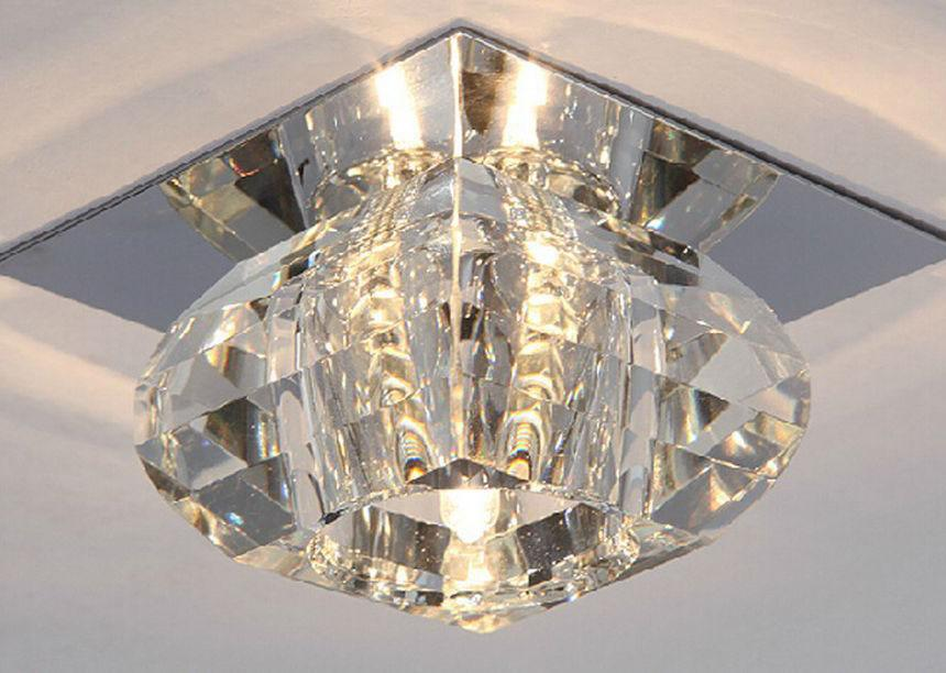 Plafoniere In Cristallo Miglior Prezzo : Acquista plafoniere del corridoio di minimalismo luci a led mini