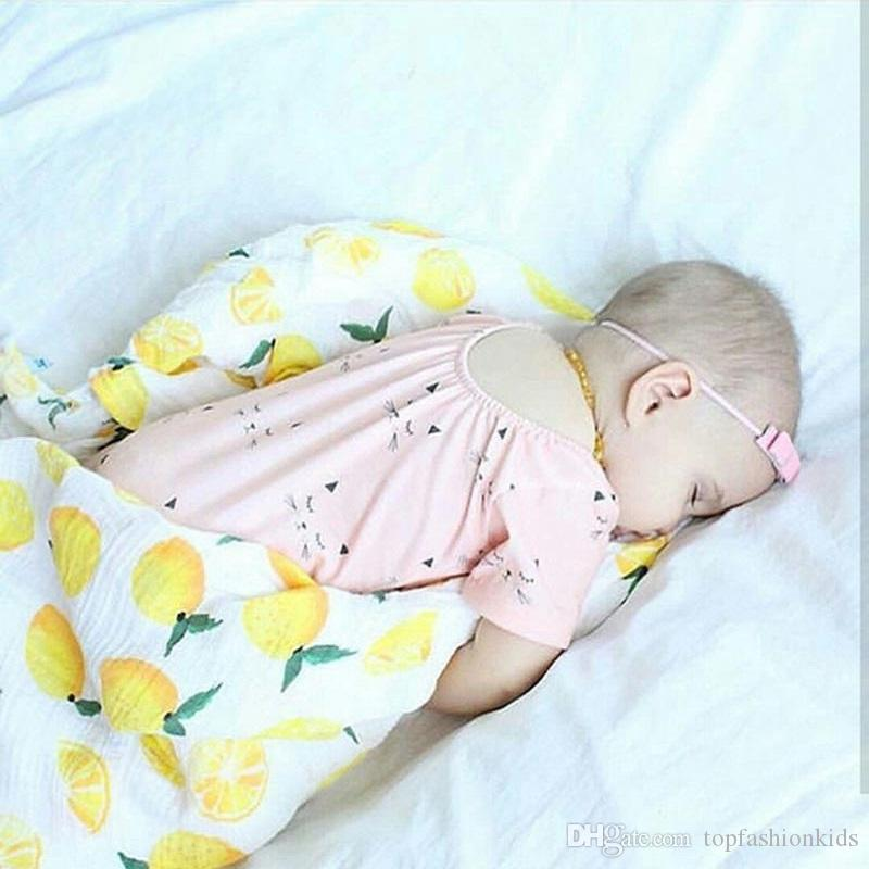 9e4e8608154f2 Baby Blankets Newborn Photography Accessories Cotton Unicorn Fox Print Kids  Stroller Cover Baby Wrap Girls Receiving Blankets Designer Baby Blankets  Sale ...
