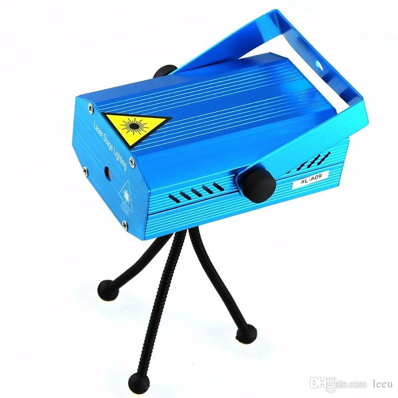 150MW Mini Red & Green Moving Party blue /black body Laser Stage Light laser DJ party light Twinkle With Tripod led stage lamp