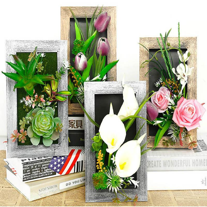 2019 3d Artificial Plants Decoration Stereo Artificial Flowers Wall