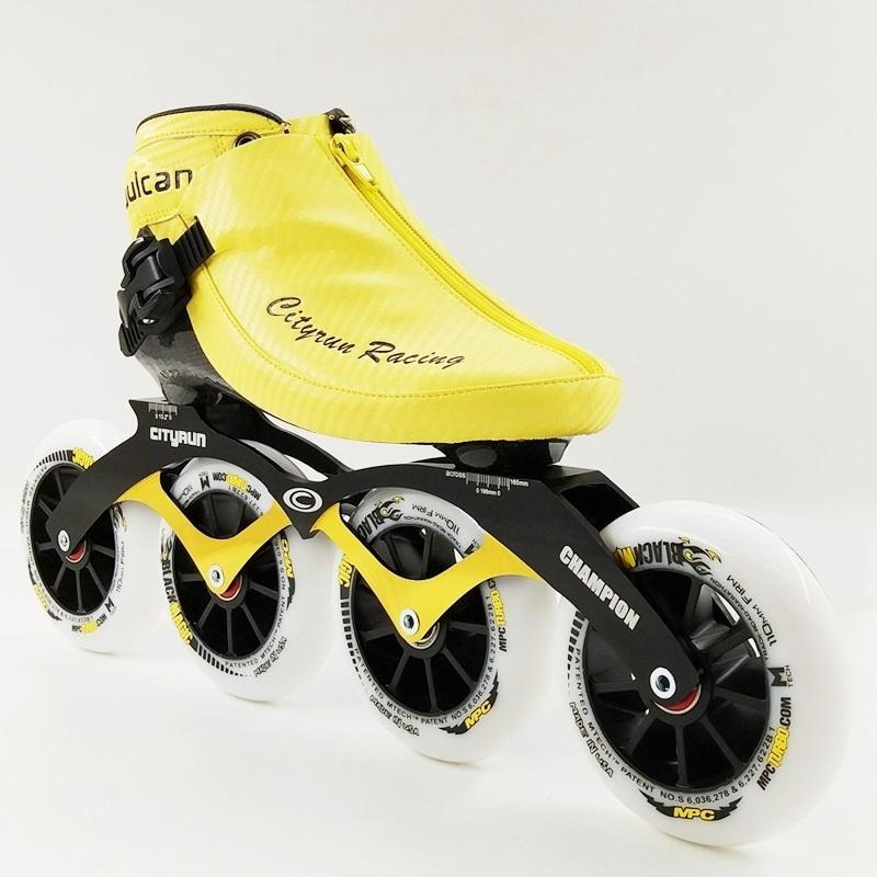Wholesale-Professional Speed Skate Shoes Roller Skating NEW Arrival  Men/Women Inline Skates 4 Wheels Adults/Kids Boot