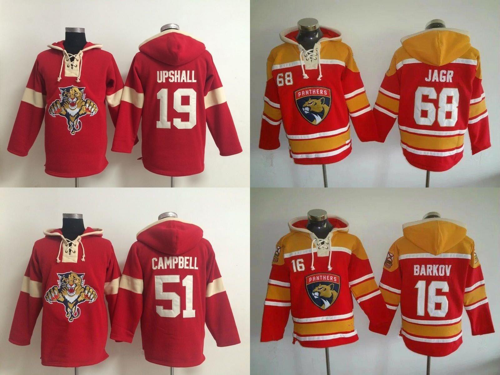 32bf3ae10 2019 Hot Sale Mens Womens Kids Florida Panthers 16 Aleksander Barkov 19  Scottie Upshall 51 Brian Campbell 68 Jaromir Jagr Ice Hockey Hoodies From  Espn_sport ...