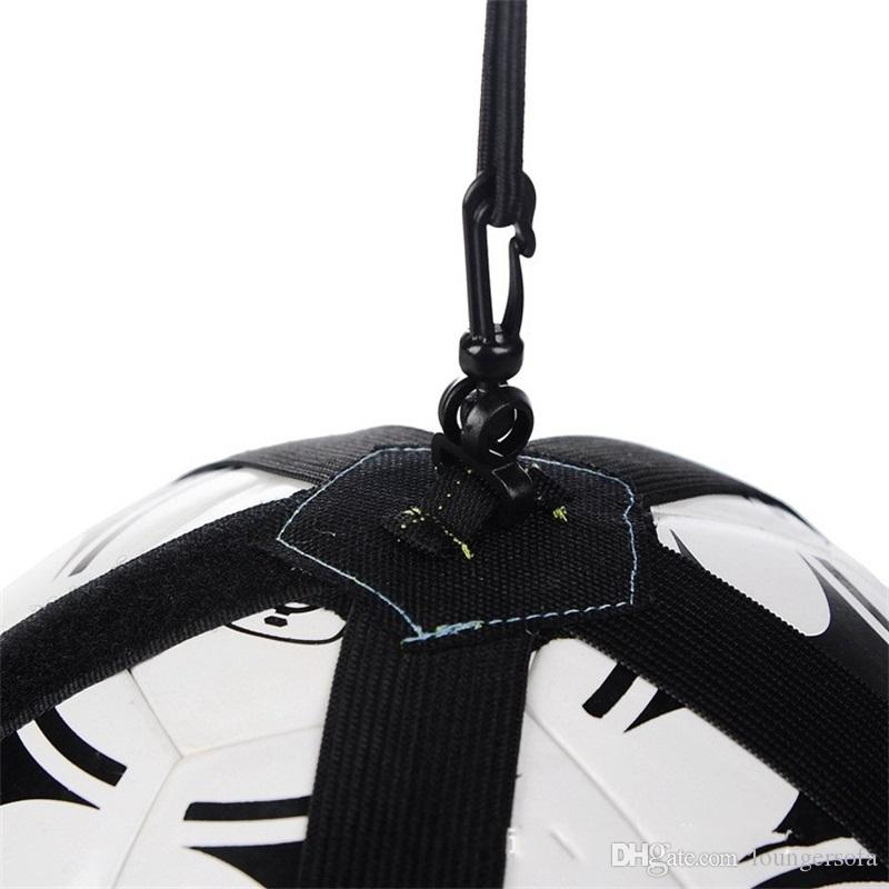 Children Football Train Straps Outdoors Soccer Training Whirling Equipment Nylon Fabric Strong Wear Resistance Ball Control Straps 15 5wl Y