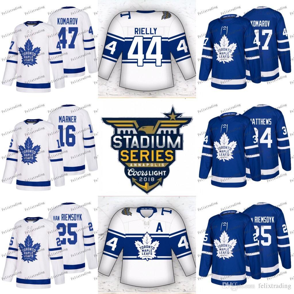 wholesale dealer acf90 1566b 2018 Stadium Series Toronto Maple Leafs Mitch Marner Auston Matthews Tyler  Bozak Zach Hyman Nazem Kadri Leo Komarov Josh Leivo Jerseys