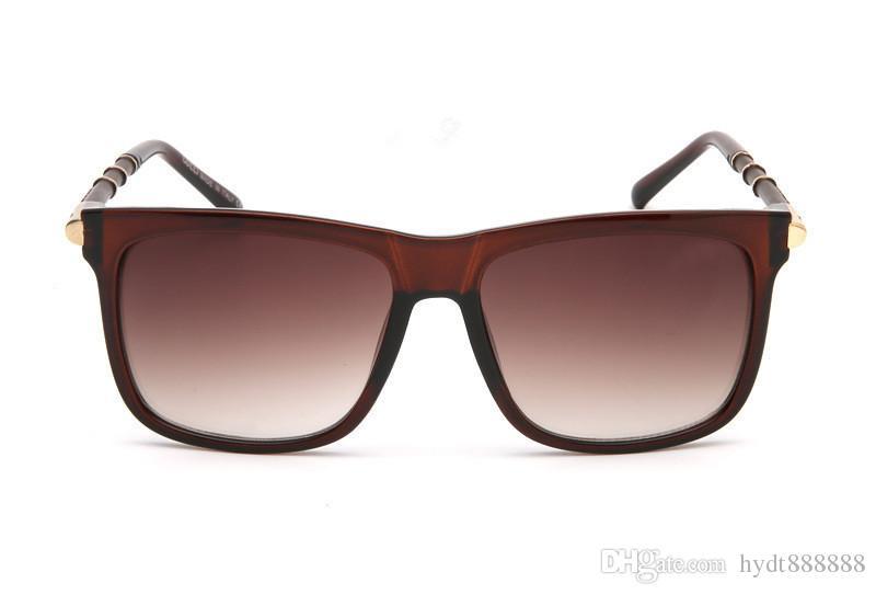 Gafas de sol populares Luxury Brand Brand Designer 9247 Square Summer Style Full Frame Protección UV de calidad superior Color mezclado Ven